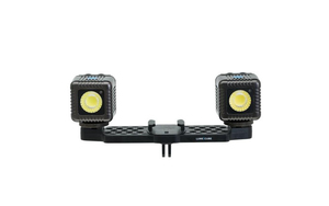 Lume Cube Two Light Mounting Bar for GoPro & Action Cameras