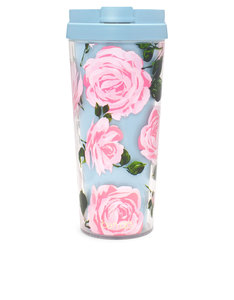 Ban.do Hot Stuff Rose Parade Pink/Turqoise/Green 16oz Thermal Mug