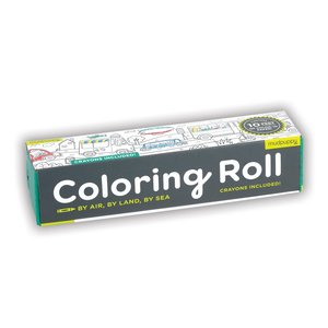 By Air By Land By Sea Coloring Roll