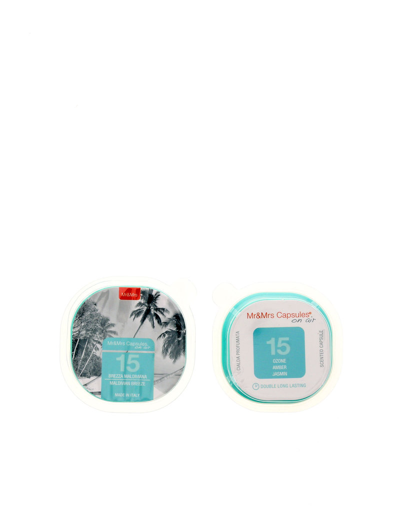Mr & Mrs Capsules Set 2 Pcs Maldivian Breeze