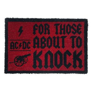 AC/DC For Those About To Knock Doormat [60 x 40 cm]