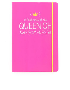 Happy Jackson Queen Of Awesomeness A5 Notebook