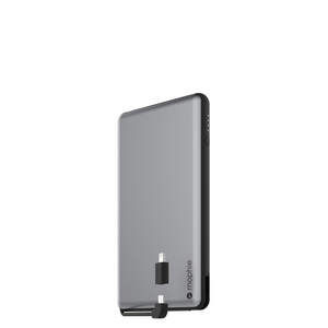 Mophie Powerstation Plus Space Grey 12000MaH With Lightning Connector Power Bank