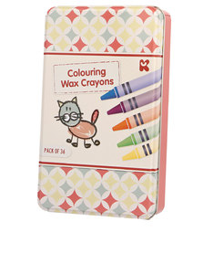 Keycraft Colouring Crayons Set In Tin
