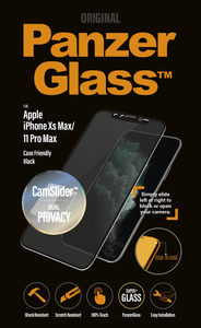 PanzerGlass Camslider Privacy CF Black for iPhone 11 Pro Max