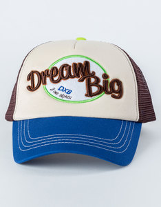 B180 Dream Big Blue/Biege Unisex Cap