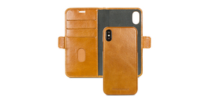 Dbramante1954 Lynge Wallet Case Tan for iPhone XS
