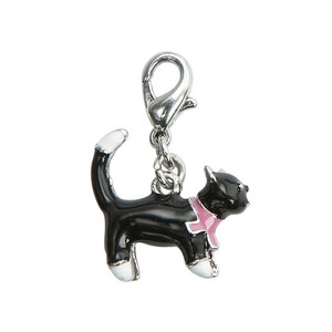 BOMBAY DUCK LUCKY BLACK CAT CHARM