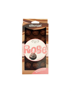 Silikomart Easy Choc Rose Mould