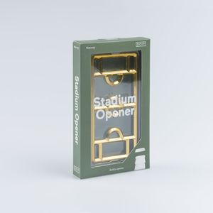 DOIY Stadium Bottle Opener Gold