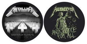 Metallica: Master Of Puppets & And Justice For All Slipmats [Set of 2]