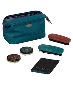 Ted Baker Shoeshine Kit Teal