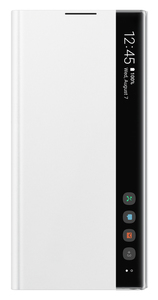 Samsung Clear View Cover White for Galaxy Note 10+