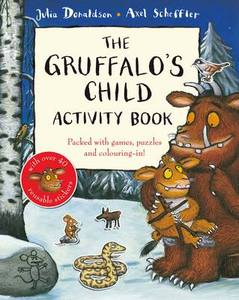 Gruffalo's Child Activity Book With Block