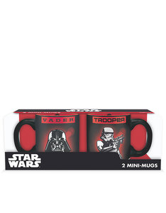 Abystyle Star Wars Mini-Mugs Vader & Trooper [Set of 2]