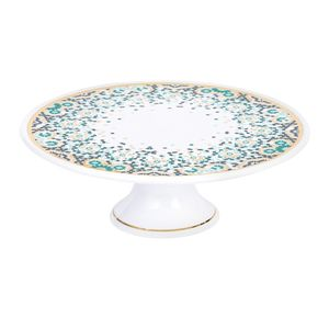 Silsal Mirrors Cake Stand Emerald