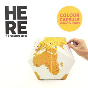 Here Small Personal Globe Color