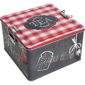 Orval Creations Tea Box Design Rouge Ardoise Red