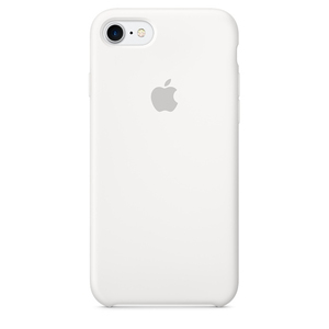 Apple Silicone Case White iPhone 7