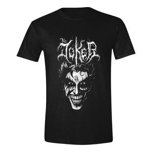 Batman Death Metal Joker Men'S T-Shirt Black S