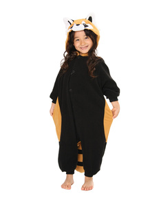 Red Panda Kigurumi Multi Kids Costume
