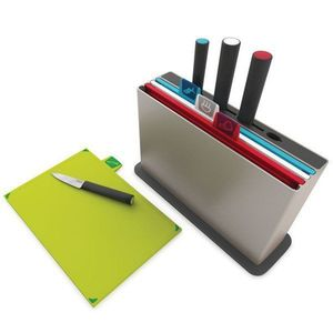 Index Chopping Board+Knives Set