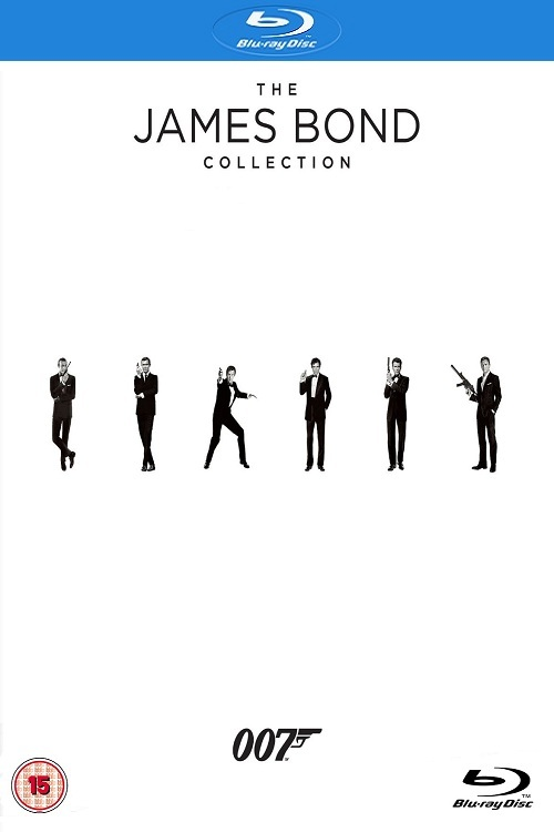 James Bond Film Coll Blu-Ray Bx23