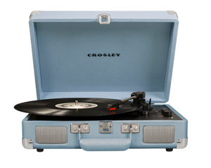Crosley Cruiser Deluxe Turntable Tourmaline
