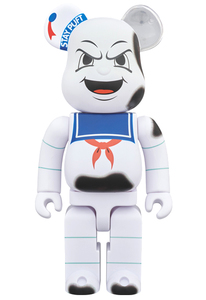 Bearbrick Ghostbusters Anger Face Marshmallow Man 400 Percent Figure