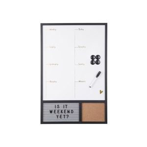Present Time Memo Board Serene W. Message Board