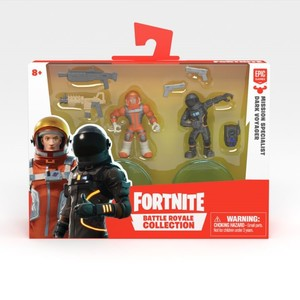 Fortnite Battle Royale Collection S2 Missn Specialist & Drk Voyager 2 Inch Duo Pack