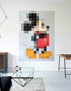 IXXI Disney Mickey Pixel Wall Decoration