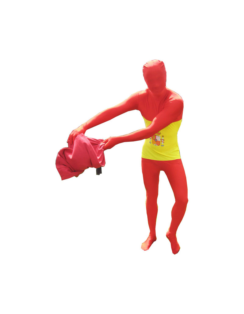 Flag Morphsuits Spain Flag Unisex