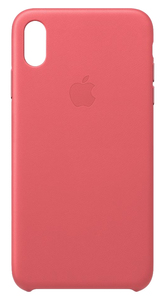 APPLE LEATHER CASE PEONY PINK FOR IPHONE XS MAX