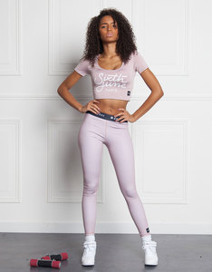 Sixth June Sports Leggings Gothic Stone Pink