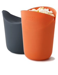 Joseph Joseph M-Cuisine Single Serve Popcorn Makers [Set of 2]