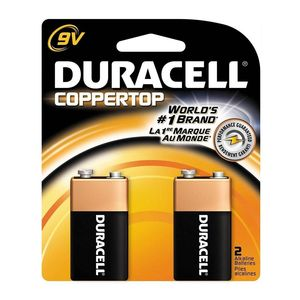 Duracell 9V Battery [2 Pack]