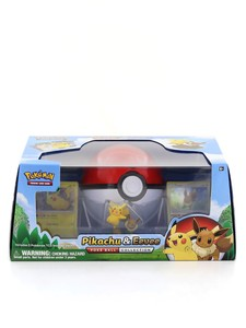 POKEMON PIKACHU & EEVEE POKE BALL COLLECTION SPECIAL EDITION