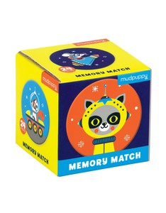 Mudpuppy Outer Space Mini Memory Match Game