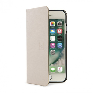 Tucano Filo Booklet Case Gold iPhone 7