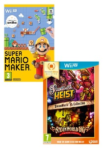 Mario Maker + Steam World Collection [Bundle]