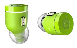 Crazybaby Air Nano Volt Green True Wireless Earbuds
