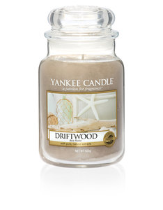 Yankee Candle Light Brown Classic Jar Large Driftwood