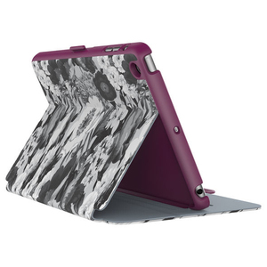 Speck Stylefolio Case Vintage Bouquet Grey/Nickel Grey/Boysenberry Purple iPad Mini 4