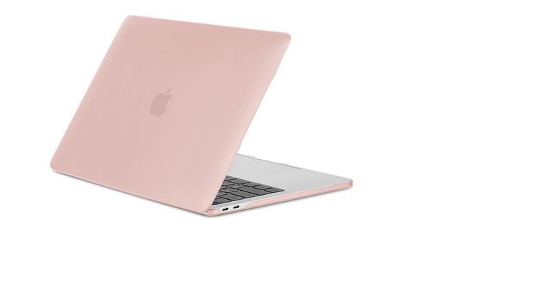 new arrival f5fd3 25692 Moshi Iglaze Case Blush Pink Macbook Pro 13 Inch