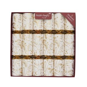 Robin Reed Mayfair New Script Christmas Crackers [Set of 12]