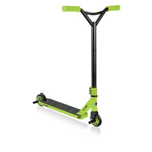 Globber Gs 360 Black Lime Green Stunt Scooter