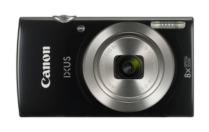 Canon Digital IXUS 185 Point and Shoot Camera + 16GB Card + Case