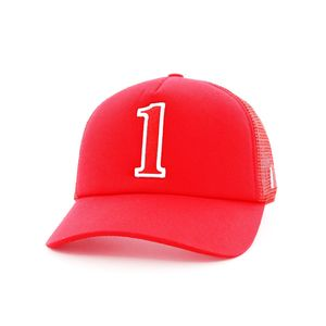 B180 Dubai1 Red Kids Men's Cap Red