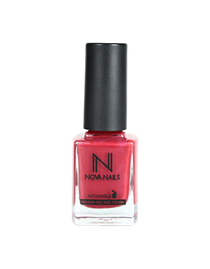 Nova Nails Water Based Nail Polish Crimson Red #80